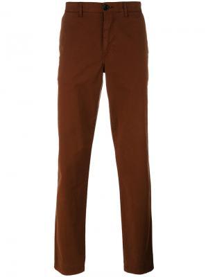 Классические брюки-чинос Ps By Paul Smith. Цвет: коричневый
