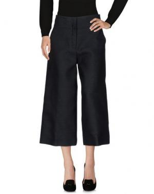 Повседневные брюки CAPUCCI. Цвет: стальной серый