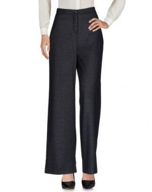 Повседневные брюки KING KONG. Цвет: свинцово-серый