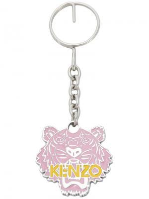 Tiger keyring Kenzo. Цвет: розовый и фиолетовый