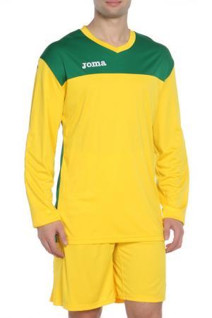 Толстовка и шорты Joma. Цвет: желтый