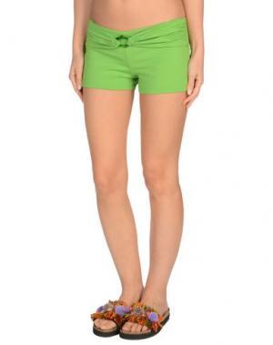 Пляжные брюки и шорты FISICO. Цвет: светло-зеленый