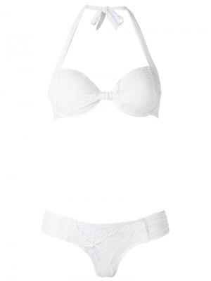 Balconette bikini set Amir Slama. Цвет: белый