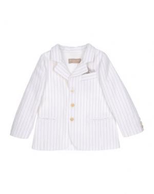 Пиджак LA STUPENDERIA. Цвет: белый