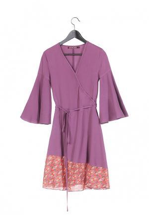 Платье Artwizard. Цвет: фиолетовый