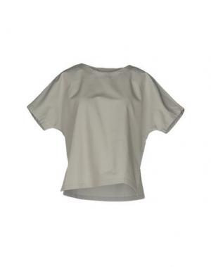Блузка LORENA ANTONIAZZI. Цвет: серый