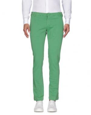 Повседневные брюки ENTRE AMIS. Цвет: зеленый