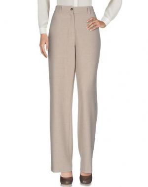 Повседневные брюки GIGUE. Цвет: бежевый