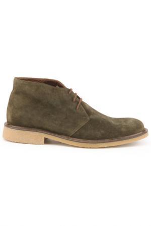 Ботинки DERIMOD. Цвет: зеленый