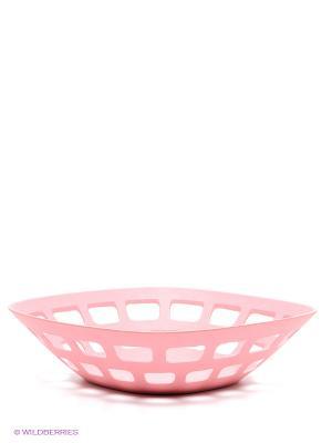 Ваза Frybest. Цвет: розовый