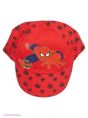Шапка Spider-Man. Цвет: красный
