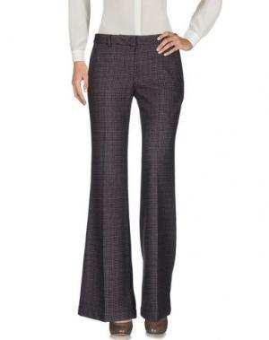 Повседневные брюки SOHO DE LUXE. Цвет: темно-коричневый