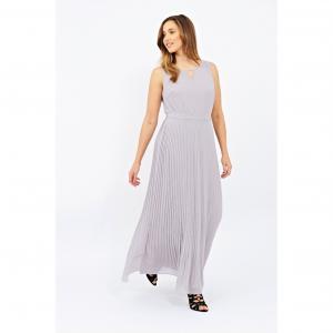 Платье длинное LOVEDROBE. Цвет: серый