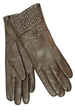 Перчатки Dali Exclusive. Цвет: шоколадный
