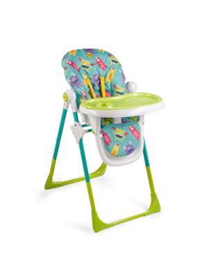 Стул для кормления Happy Baby Goodie. Цвет: бирюзовый