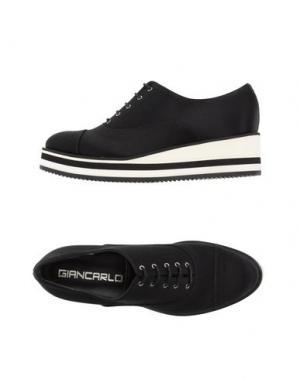 Низкие кеды и кроссовки GIANCARLO PAOLI. Цвет: черный