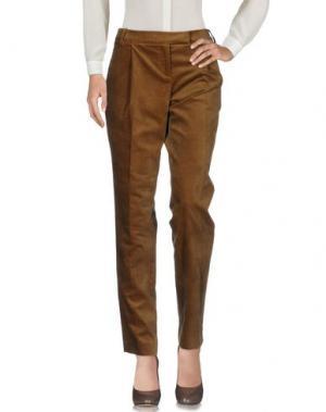 Повседневные брюки GALITZINE. Цвет: хаки