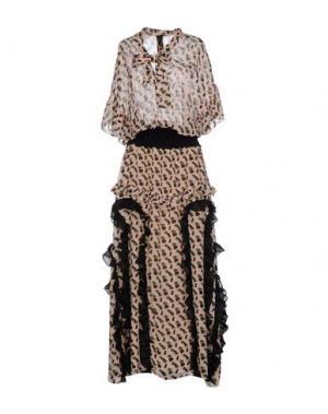 Длинное платье KRISTINA TI. Цвет: розовый
