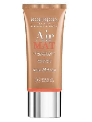 Тональный крем для лица Bourjois  Air Mat- Found De Teint, тон 06. Цвет: темно-коричневый