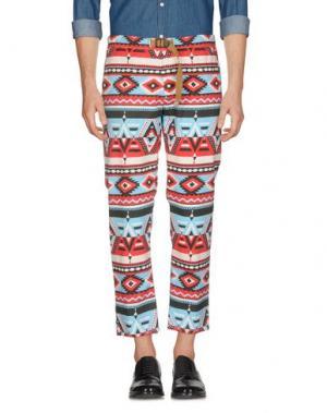 Повседневные брюки WHITE SAND 88. Цвет: красный