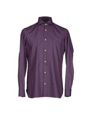 Pубашка GIAMPAOLO. Цвет: фиолетовый