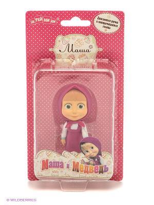 Кукла Маша и медведь. Цвет: розовый