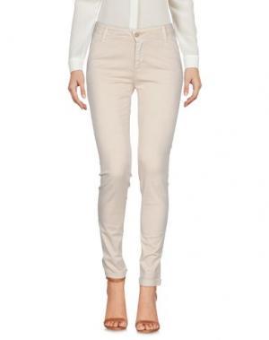 Повседневные брюки J-CUBE. Цвет: песочный