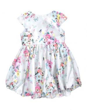 Платье BEETLEJUICE. Цвет: небесно-голубой