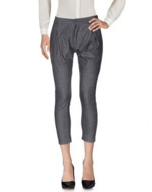 Повседневные брюки ITALIANS GENTLEMEN. Цвет: серый