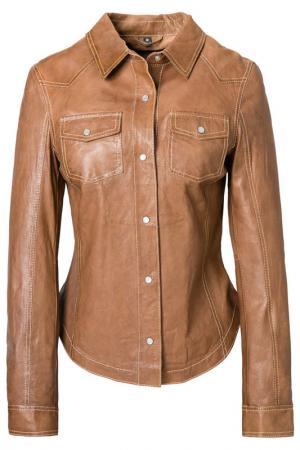 Shirt MAZE. Цвет: brown