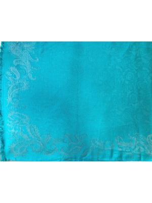 Платок NINA ROSSI. Цвет: бирюзовый