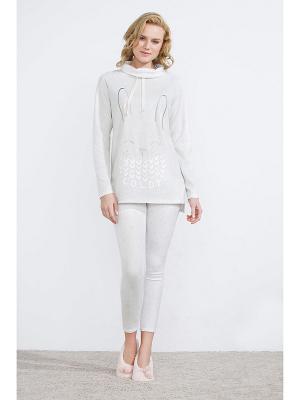 Пижама Women' Secret. Цвет: серый