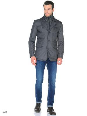 Куртка ABSOLUTEX. Цвет: серый