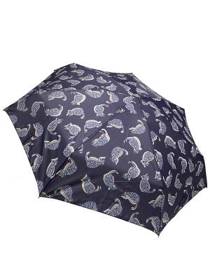 Зонт Edmins. Цвет: темно-синий, бежевый, красный