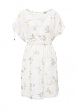 Платье Y by Yumi. Цвет: бежевый