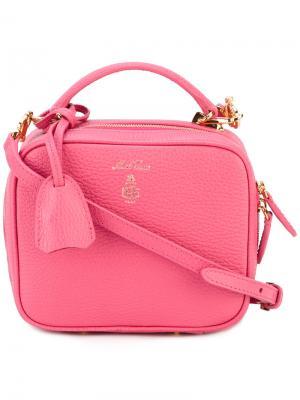 Мини сумка на плечо Laure Mark Cross. Цвет: розовый и фиолетовый