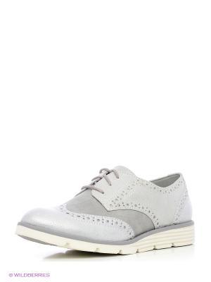 Туфли S.OLIVER. Цвет: серый