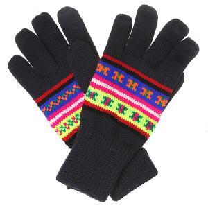 Перчатки  Acc Mera Neon Pattern Knitted Navy Penfield. Цвет: синий,мультиколор