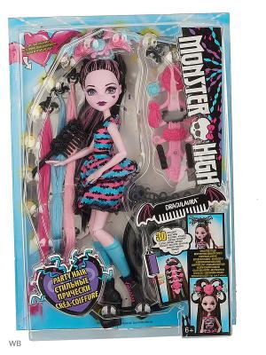 Стильные прически Дракулауры Monster High. Цвет: фиолетовый