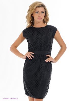 Платье ESPRIT. Цвет: черный