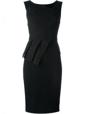 Платье Glenview Roland Mouret. Цвет: чёрный