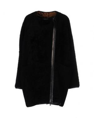 Пальто ENES. Цвет: черный