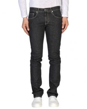 Джинсовые брюки REPORTER. Цвет: черный
