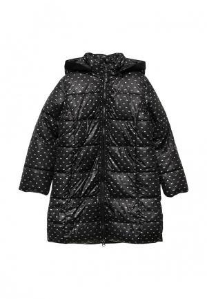 Куртка утепленная Boboli. Цвет: черный