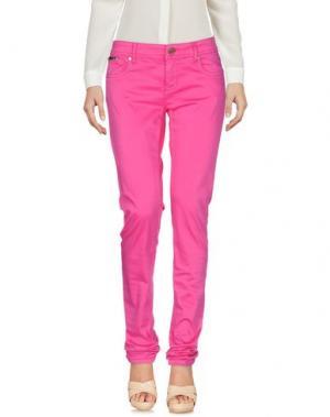 Повседневные брюки G.SEL. Цвет: фуксия