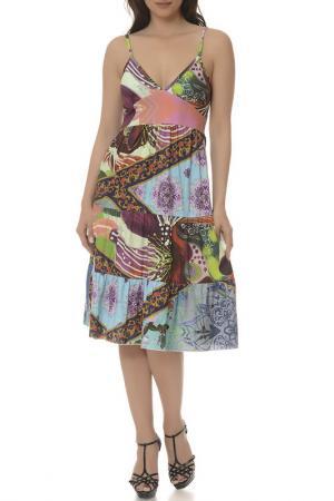 Платье LA BELLE PARISIENNE. Цвет: multicolor