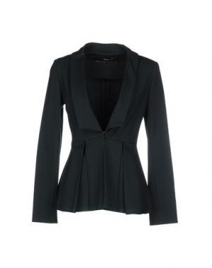 Пиджак LUPATTELLI. Цвет: темно-зеленый