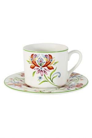 Чашка с блюдцем Аквитания IMARI. Цвет: мультиколор