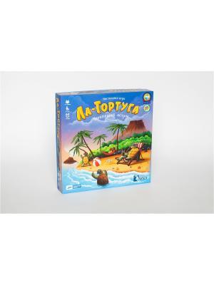 Настольная игра Ла-Тортуга. Черепаший остров 2.0 Cosmodrome Games. Цвет: синий, зеленый