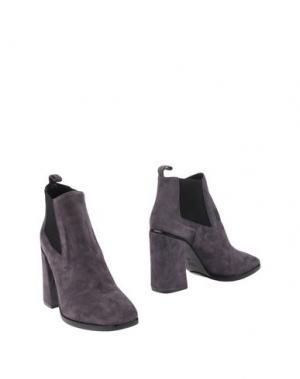 Полусапоги и высокие ботинки GIAMPAOLO VIOZZI. Цвет: серый